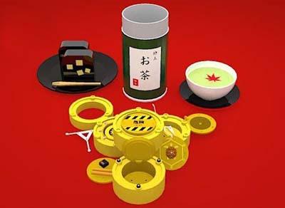 Kaitai Japanese Tea Canister