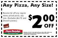 image about Papa Murphy's Coupon Printable referred to as Free of charge Cafe Printable Coupon codes, Immediate Foodstuff Cafe