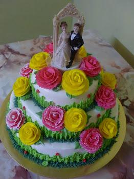 Wedding Cakes 3-tiers