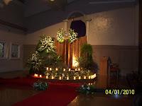 San Antonio altar