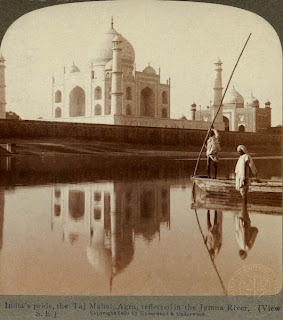 Taj Mahal,Agra,100 years ago