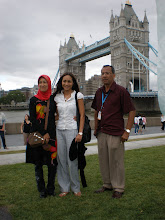 with maya karin at london bridge