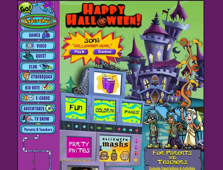 cyberchase halloween - Cyberchase Halloween