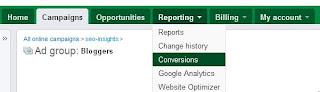 Google Adwords Conversion Button
