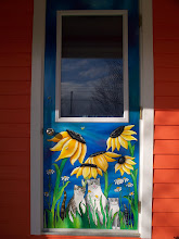 Painted Doors....