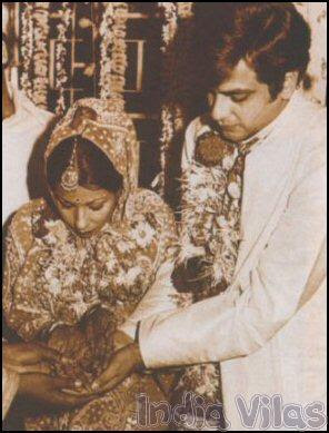 Bollywood actor Jeetendra wedding to Shobha Kapoor