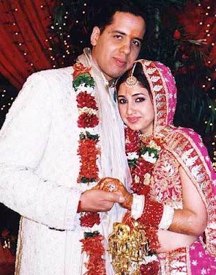 Bollywood Celebrity Weddings: Rinkie Khanna & Sameer Saran ...