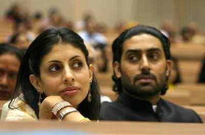 Abhishek Bachchan & Shweta Bachchan