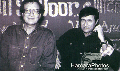 Dev Anand with brother Vijay Anand