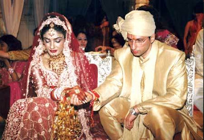 Anil & Raveena celebrity wedding