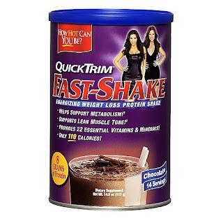 QuickTrim Fast-Shake - Chocolate
