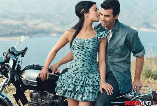 Ex-casal   233  capa da revista  quot Teen Vogue quot  e mostra que existia muuuita    Joe Jonas 2010 Photoshoot