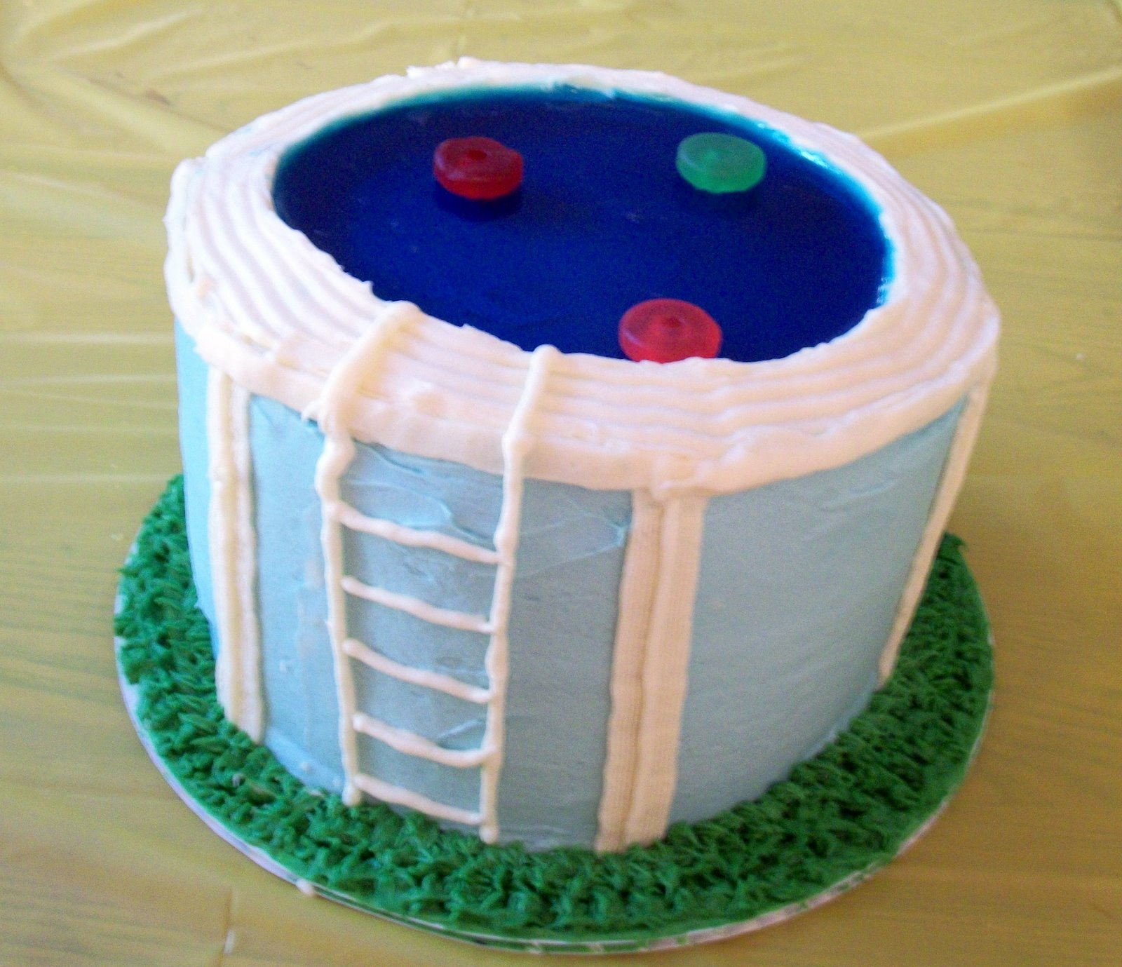 Cole 39 S Cakes Swimming Pool Cakes