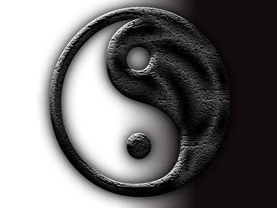 ying yang wallpaper