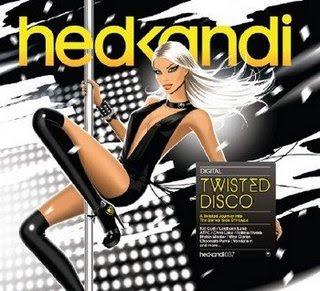 eletrohitz, eletro hitz, musica eletronica, Hed Kandi - Twisted Disco