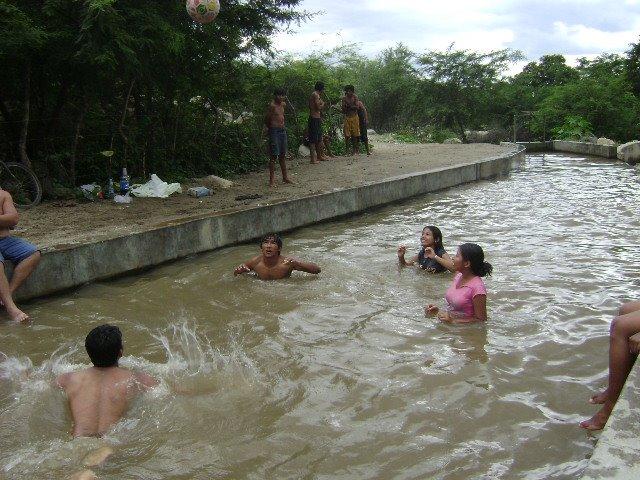 QUE RICO BAÑO