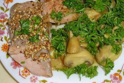 Рецепт селедка с грибами