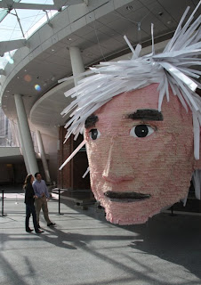 Andy Warhol Pinata, High Style at Brooklyn Ball Gala