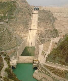 Tehri Dam in Uttaranchal India