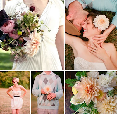 Floral Arrangements by Saipua Featured on Green Wedding Shoes