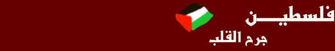 Palestine wounded heart فلسطين جرح القلب