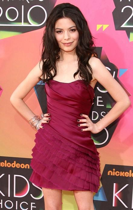 Miranda Cosgrove en los Kids' Choice Awards 2010
