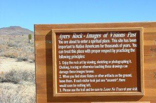 Pictographs At Ayers Rock