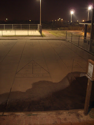 Another shot of the Shuffleboard Courts