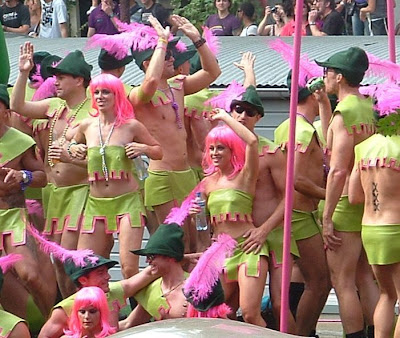 Yesterday I was at the Gay Pride 2009 in Amsterdam.