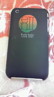 Koshi Inaba LIVE2010 enⅡアイフォンカバー