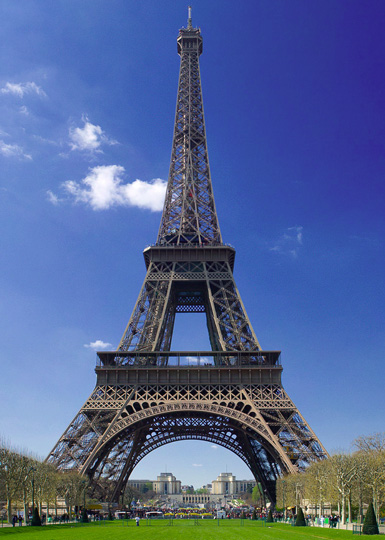 Eiffel Tower of Paris france