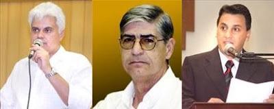 Sidney de Souza, Luiz Carlos Tamarozzi e Jamil Janene
