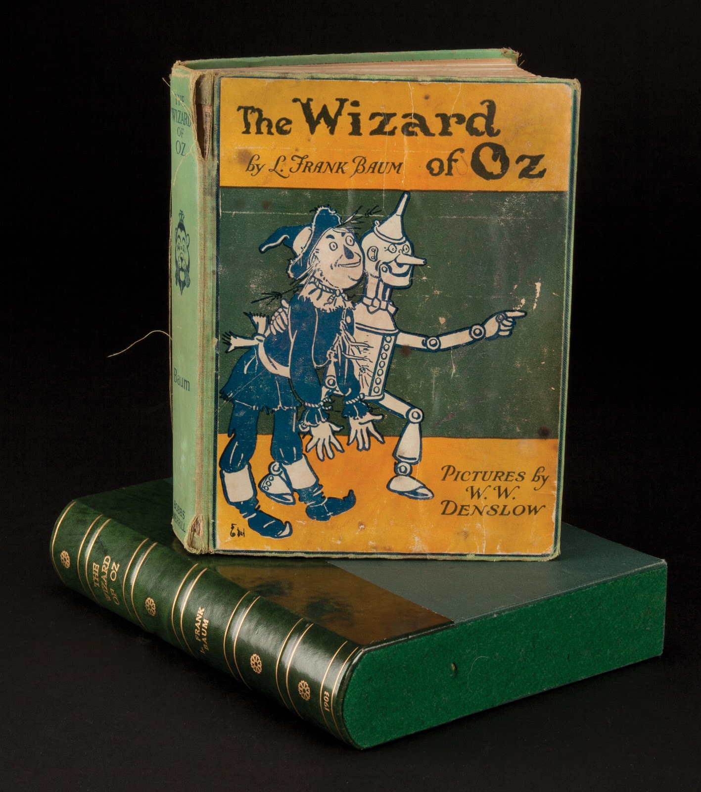 Feathered quill book reviews the wizard of oz vintage clothbound book