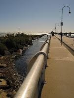 The long long pier