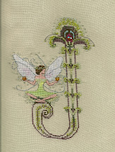Rocky Mountain Stitcher Letters Nora-letter