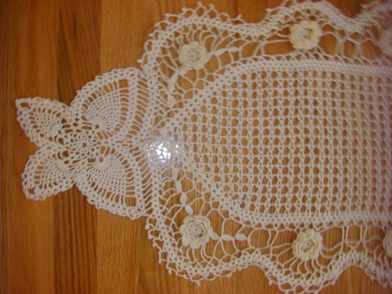 CROCHETED TABLE RUNNER PATTERNS CROCHET PATTERNS