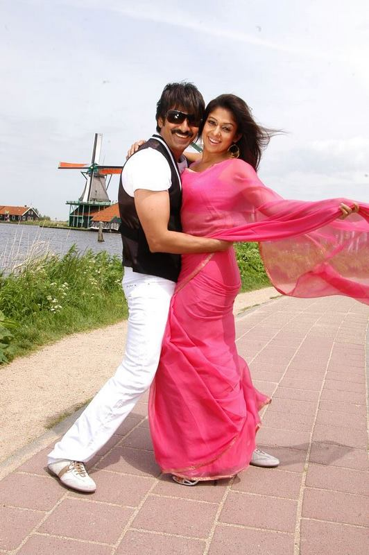 Anjaneyulu Ravi Teja And Nayanatara Acting Together