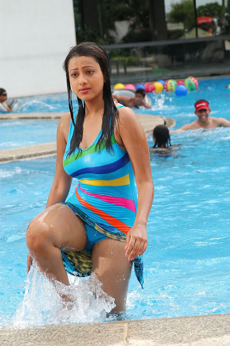 madalasa sharma bikini or swim suit act very cute stills