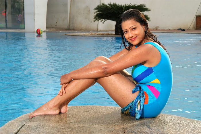 madalasa sharma bikini or swim suit act very glamour  images