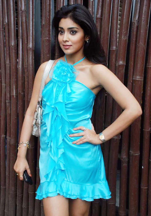 mallana shriya while she attended a function cute stills