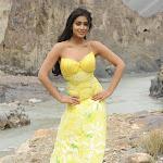 Shriya Saran Cool in Yellow Dress Pics