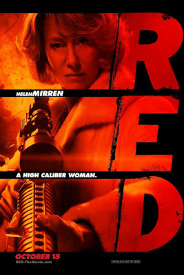 Helen Mirren - red