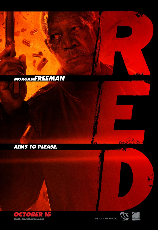 RED : Retraités Extrêmement Dangereux Morgan+Freeman+Red