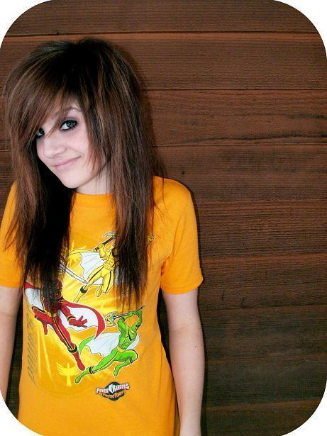 Emo Hairstyles For Girls scene hairstyles
