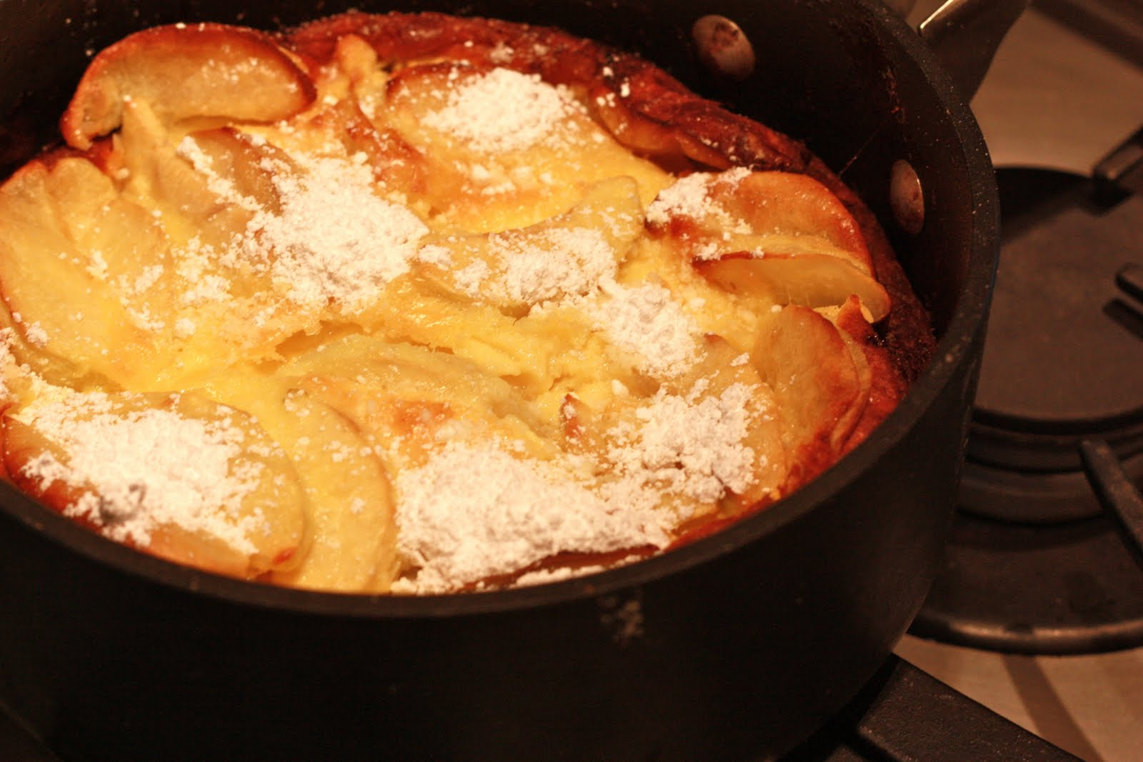 gluten free dutch apple pancake