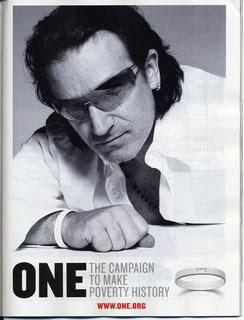 Bono campanha One