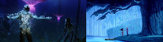 Avatar x Pocahontas - folhas ou sementes mágicas são um sinal