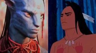 Avatar x Pocahontas - o grande guerreiro (que quer se casar com a mocinha)