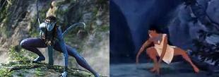 Avatar x Pocahontas - os nativos se movem com flexibilidade