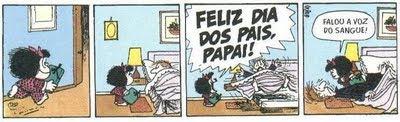 Mafalda (Quino) - dia dos pais